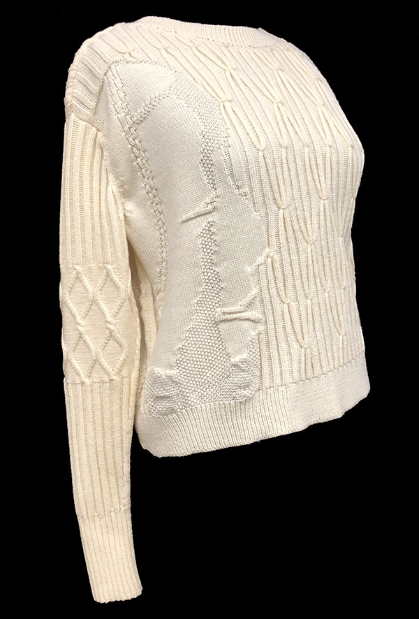 knitGrandeur: Designer: Zoe Schultz-FIT & Biagioli Modesto Collaboration 2019: Term Garment Project Featuring Cash 30