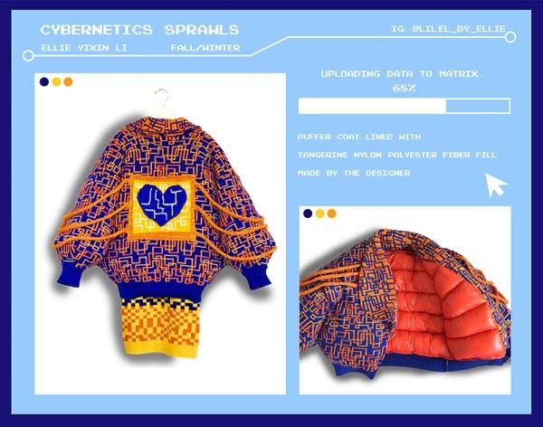 knitGrandeur: Designer Ellie Yixin Li, FIT Future of Fashion 2020, Knitwear