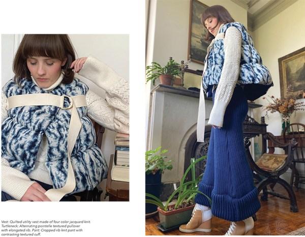 knitGrandeur: Designer: Aleksandra McCormack: FIT Future of Fashion 2020, Knitwear
