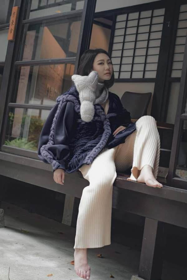 knitGrandeur- Designer Iris Wang: FIT Future of Fashion 2021, Knitwear