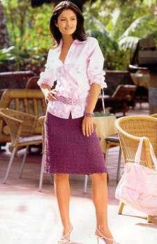 Узорна юбка