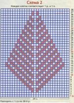 Белая классическая безрукавка схема вязания