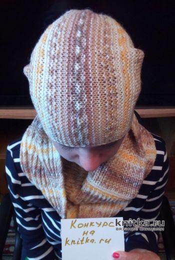 Set de Melange: Bini Hat și Snead Tricotat