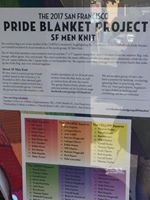 Pride Blanke Project and map of artists