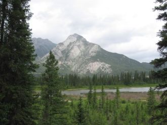Mountain in Banff area