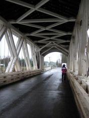 Gilkey Bridge inside