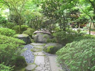 Japanese Garden path view