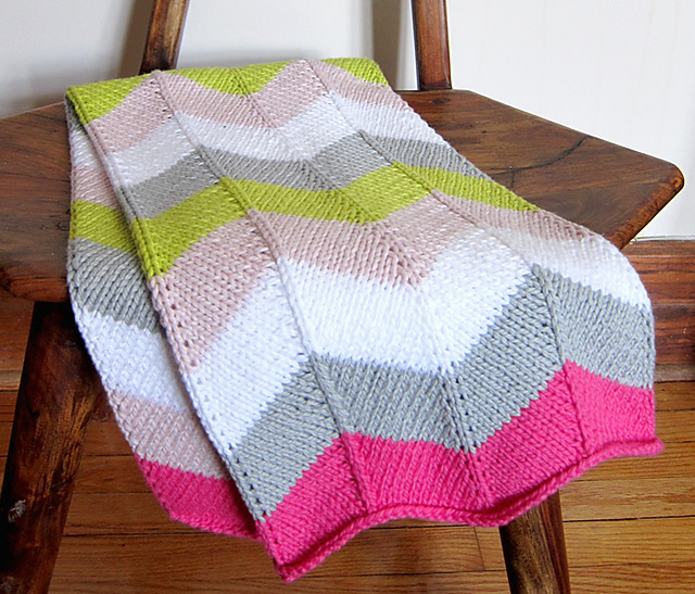 image about Free Printable Knitting Patterns for Baby Blankets titled 15 Absolutely free little one blanket knitting types