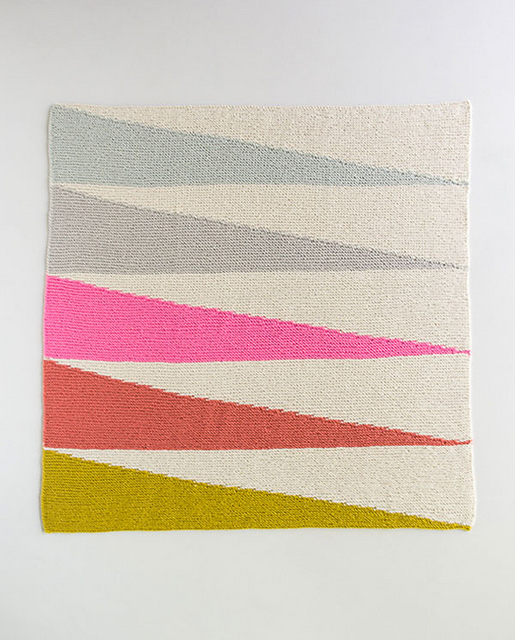 507dd6fe5d62f ... Colorful Wedges Baby Blanket by Purl Soho ...