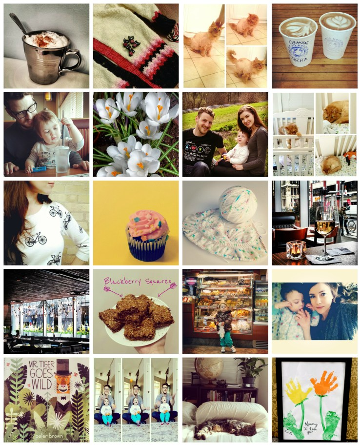 Instagram Collage| knittedbliss.com