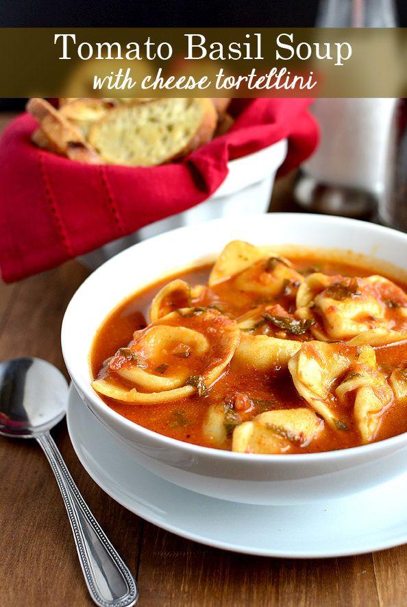 Pin Ups: Tomato Basil Soup| knittedbliss.com