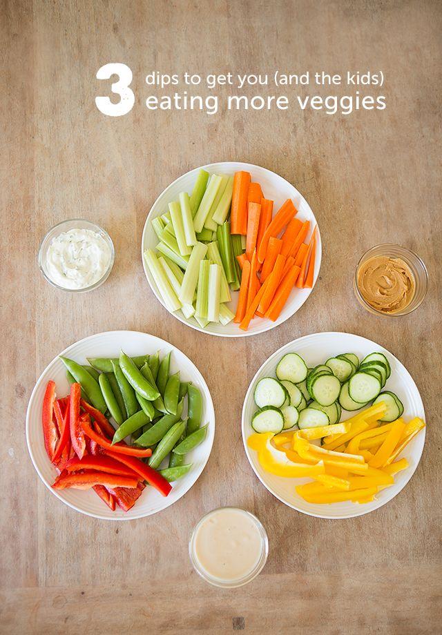 Pin Ups: 3 easy dips for veggies| knittedbliss.com