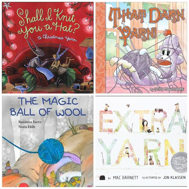 Knitting Themed Books for Kids: Ages 6-9 | knittedbliss.com