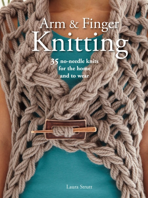 Arm & Finger Knitting Book  Review | knittedbliss.com
