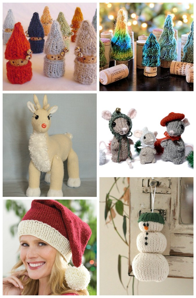Holiday Knitting: Knitted Christmas Decor| knittedbliss.com