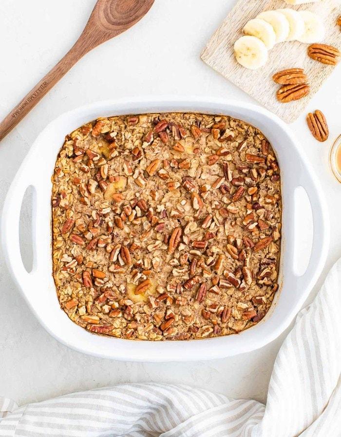 Easy baked oatmeal recipe