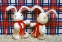 Вязаные кролики