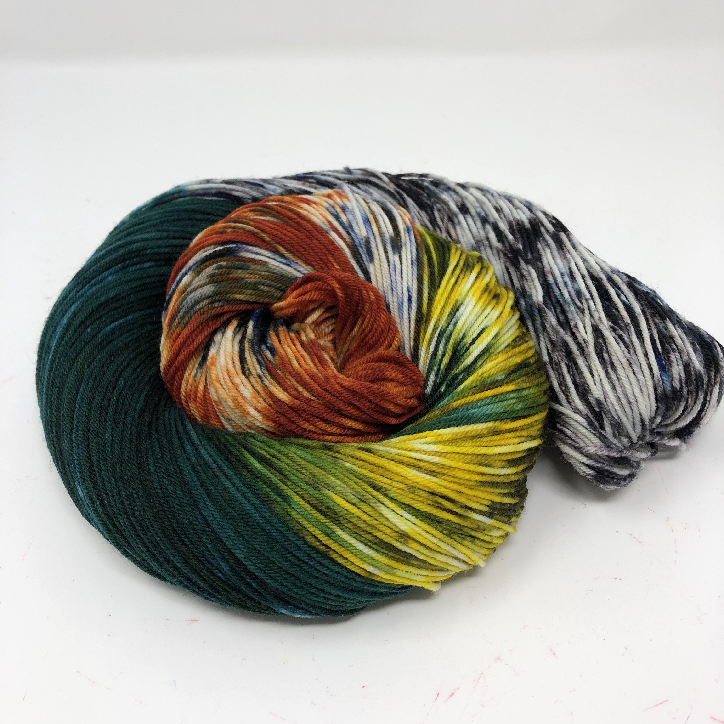 2019 National Parks colorway Rocky Mountain in Sock
