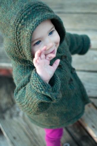 December: Latte Baby Coat