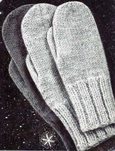 Free Knitting Patterns - Mittens and Gloves - Knitting