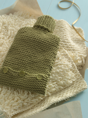 Free Pattern Hot Water Bottle Cover Knitting