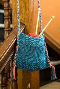 Perfect Beginner Bag Pattern - Free! - Knitting