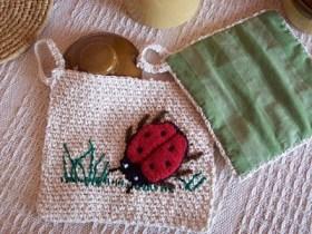 ladybug knitting
