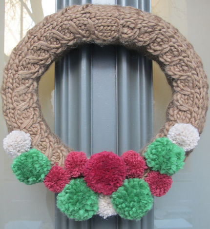 Knit A Wreath For Sandy Relief Knitting