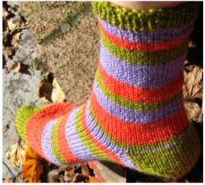 liberty wool Socks