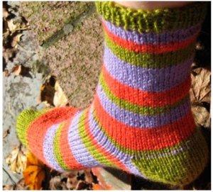 liberty wool Socks