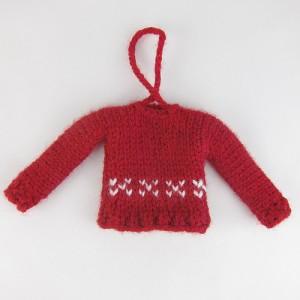 tiny sweater ornament