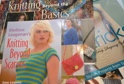 skill building knitting books