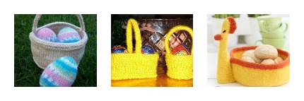 knit baskets