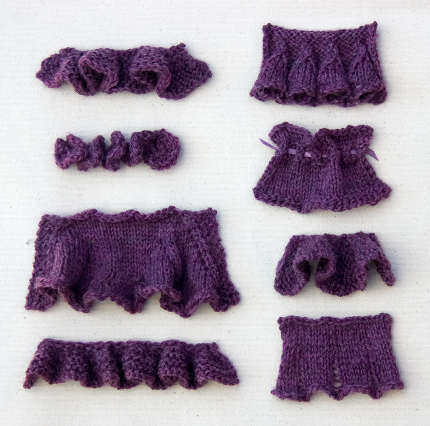 knit ruffles tricksy knitter