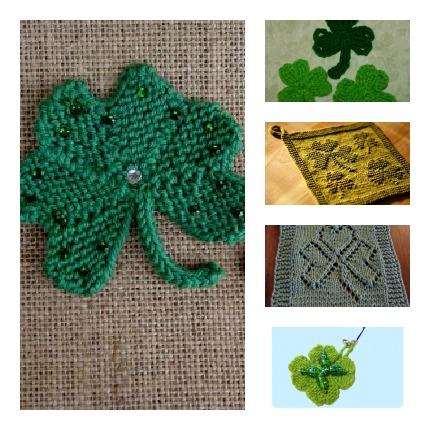 st patricks day knitting patterns