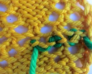 end weaving fibre space