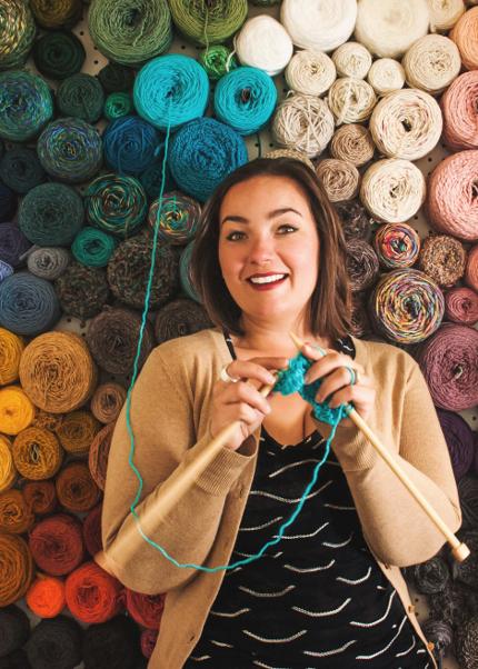 wall yarn storage