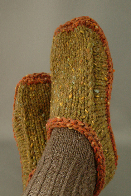 Pin Of The Week Non Felted Slippers Knitting