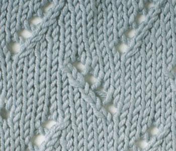 knitting stitches interweave