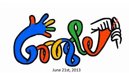 winter google doodle