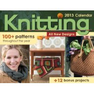 knitting pattern a day calendar