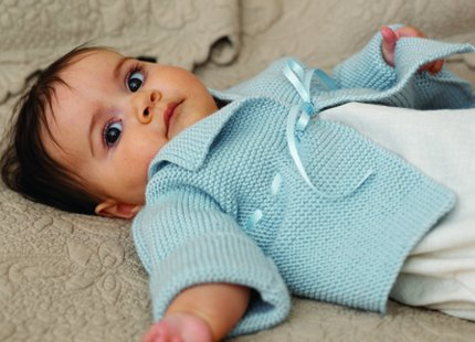 Free Baby Cardi Pattern From Debbie Bliss Knitting