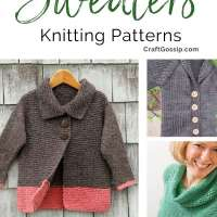 Top Ten Sweater Patterns for Beginners