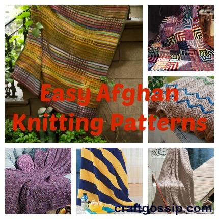 afghan knitting patterns