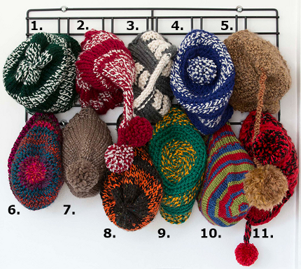 knitting trends hats