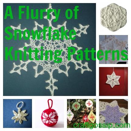 Snowflake Crafts to Knit - Knitting