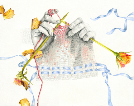 knitting stretches