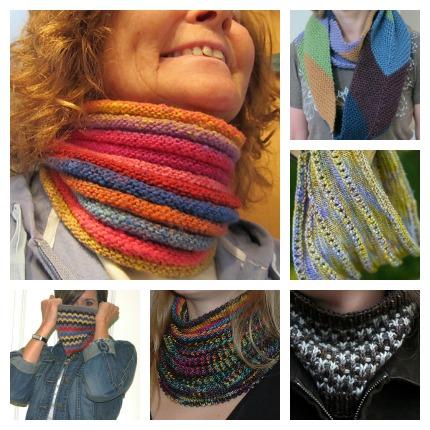 stash busting cowl knitting patterns