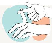 finger stretch yoga