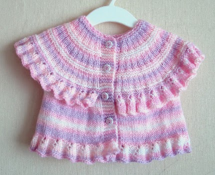 Knit a Ruffled Vest for Baby - Knitting